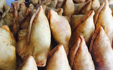 Pizza Pasta and What Not Samosas In Karampura! – Delhi