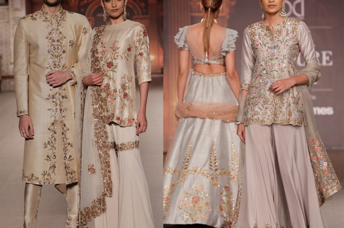 Best Lehenga and Saree Designs this wedding season from India Couture Week 2019